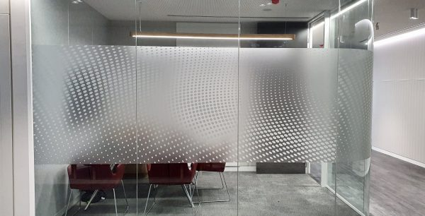Frosted Window Decals Inspired Printing