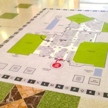 Floor Sticker Printing