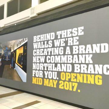 Retail Hoarding Printing