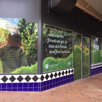 Inspired Printing - External Signage Window Decals
