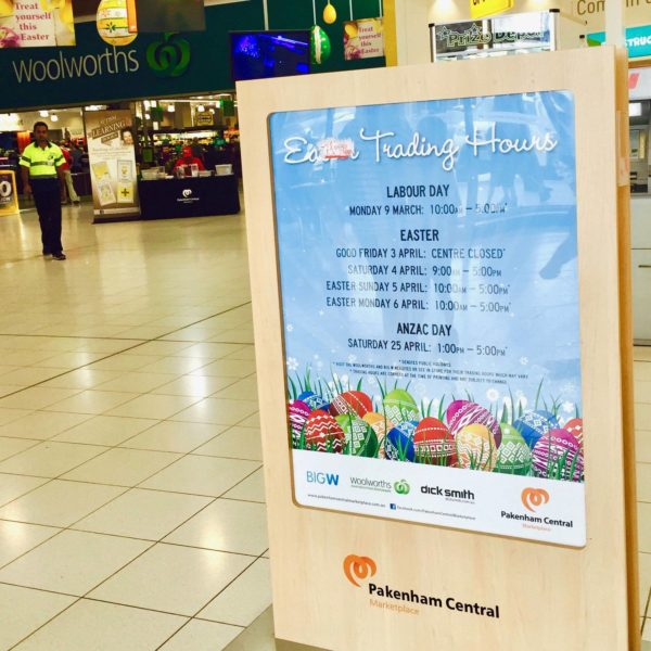 Shopping Centre Poster Printing