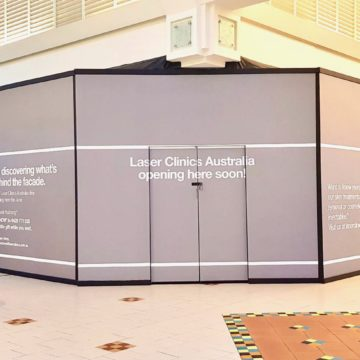 Inspired Printing - Shopping Centre Large Format Printing Retail