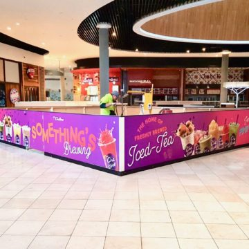 Inspired Printing - Shopping Centre Large Format Printing