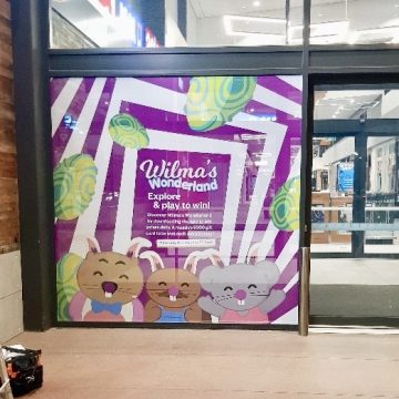 Inspired Printing - One Way Vision Signage Window Decals