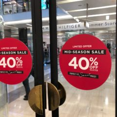 Window Decals - Inspired Printers Retail Signage