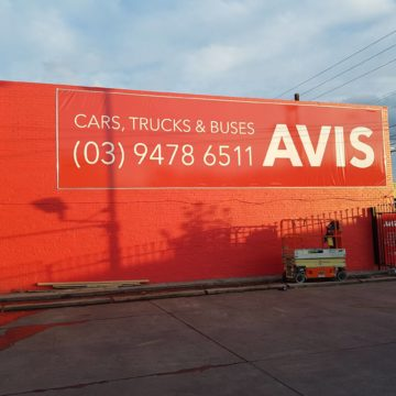 Outside Sign Printing