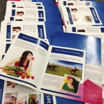 Colour Brochure Printing Examples