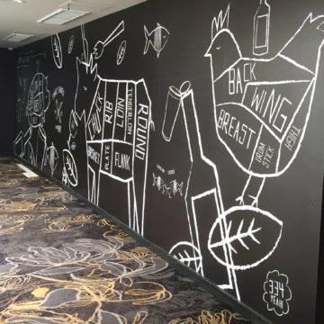 Pub Wall Printing and Design
