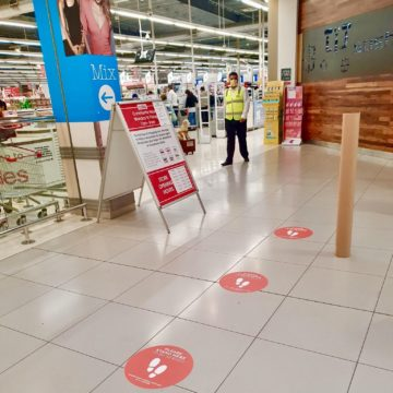 COVID-19 Print Solutions - Floor Decal